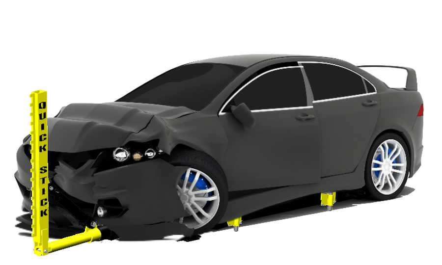 QuickStick under a car